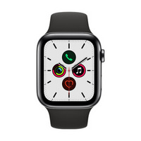 Apple 苹果 Watch Series 5 智能手表 GPS+蜂窝版 44mm 黑色
