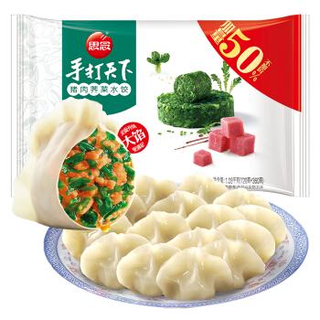 思念 手打天下 猪肉荠菜水饺 1.08kg