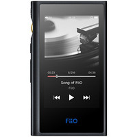 飞傲(FiiO) M9 便携HiFi双向蓝牙联网MP3无损音乐播放器 黑色