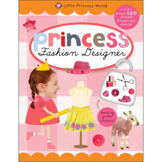Fashion Designer (Little Princess World Sticker Activity Books)