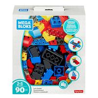 MEGA 美高 儿童积木中颗粒90片 自由拼搭套装 FLY44