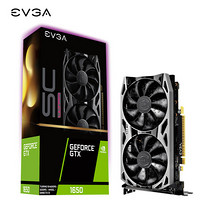 EVGA GeForce GTX 1650 SC Ultra GAMING 4G显存 1860MHz 8000MHz游戏显卡