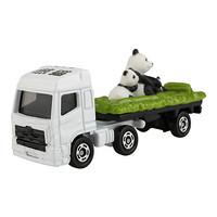 PLUS会员:TAKARA TOMY 多美卡 合金仿真小汽车 438908CN  3号动物大熊猫搬运车