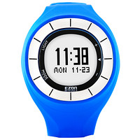 宜准 EZON 电子表运动表亚博电竞app登录 8手表男女表防水手表运动手表T028 B17蓝色