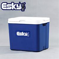 爱斯基 ESKY 33L车载家用车用冰块保温箱便携式商用冷藏箱 户外冰桶保鲜箱 厂家直发