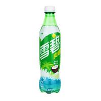 可口可乐 Coca-Cola 雪碧 无糖 雪碧爽椰派 汽水 500ml*12瓶 / 整箱装