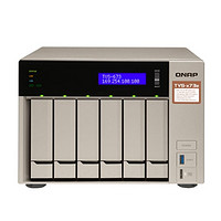威联通 QNAP US TVS-673e 6 Bay, 4GB, With HDMI, AMD