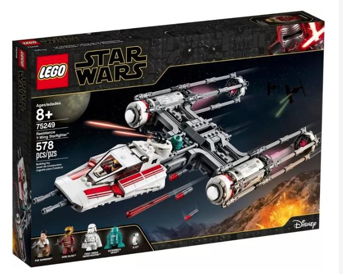 LEGO 乐高 星球大战系列 75249 反抗军Y翼战机