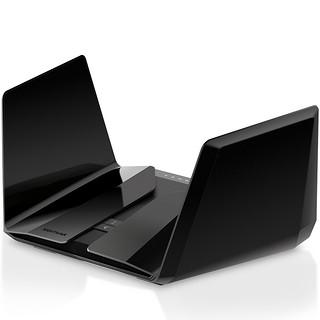NETGEAR 美国网件 RAX200 三频11000M 家用路由器 WiFi 6 黑色