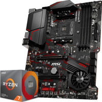 AMD 锐龙 Ryzen 7 3800X CPU处理器+MSI 微星 MPG X570 GAMING PLUS 主板