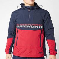 Superdry 极度干燥 Core 男士半拉链连帽外套