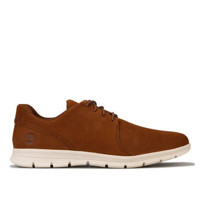 Timberland 添柏岚 Graydon Leather Oxford 男士休闲鞋 Brown UK 9.5
