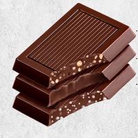 每日黑巧 纯可可脂 98%黑巧克力 50gx2件