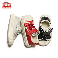 Talking TOM 汤姆猫 儿童冬季加绒复古饼干鞋