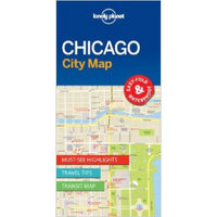 Lonely Planet Chicago City Map (Travel Guide)