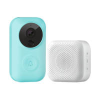MI 小米 FJ01MLTZ 叮零智能视频门铃套装 粉蓝色