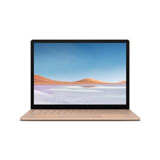 Microsoft 微软 Surface Laptop 3 超轻薄触控笔记本 砂岩金 | 13.5英寸 十代酷睿i5 8G 256G SSD 金属材质键盘
