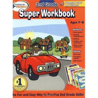 Hooked on Phonics 2nd Grade Super Workbook  自然拼读