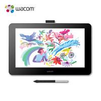 Wacom one万与创意液晶数位屏 绘画屏 手绘屏 显示屏 绘图屏 数位板 4096级压感 DTC-133