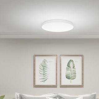 小米 米家智能LED卧室吸顶灯350 圆形卧室书房灯现代简约书房餐厅灯智能控制 24W