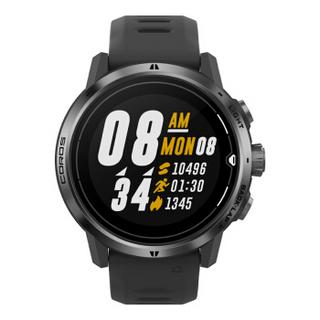 COROS 高驰 APEX Pro户外竞速手表GPS登山徒步越野跑血氧轨迹导航 黑色