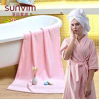 孚日浴巾家用纯棉男女大号毛巾成人儿童婴儿裹巾夏季全棉吸水速干