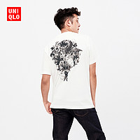 UNIQLO 优衣库 424005 Dragon ball 男士印花T恤