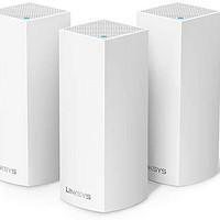 LINKSYS 领势 velop WHW0303 2200M WiFi 5 分布式路由器 白色 三只装