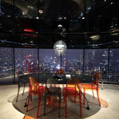 住在东方明珠里!还送腕表!上海东方明珠230空中酒店1晚套餐