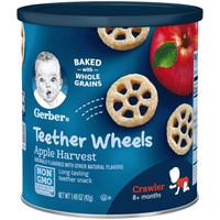 Gerber 嘉宝 车轮泡芙奶油苹果味 三段 42克/罐