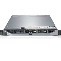 戴尔(DELL)PowerEdge R620服务器 E5-2603v2/8G/300GSAS热2.510K/DVDRW/H310MINI/495W/3NBD/8背板导轨