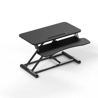 Brateck北弧 升降桌 电脑桌 站立办公升降台 办公工作桌台式书桌 站立式电脑升降支架 显示器笔记本支架DWS06