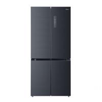 Midea 美的 净味系列 BCD-507WTPZM(E) 变频十字对开门冰箱 507L 莫兰迪灰