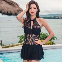 三奇 18109 裙式连体泳衣