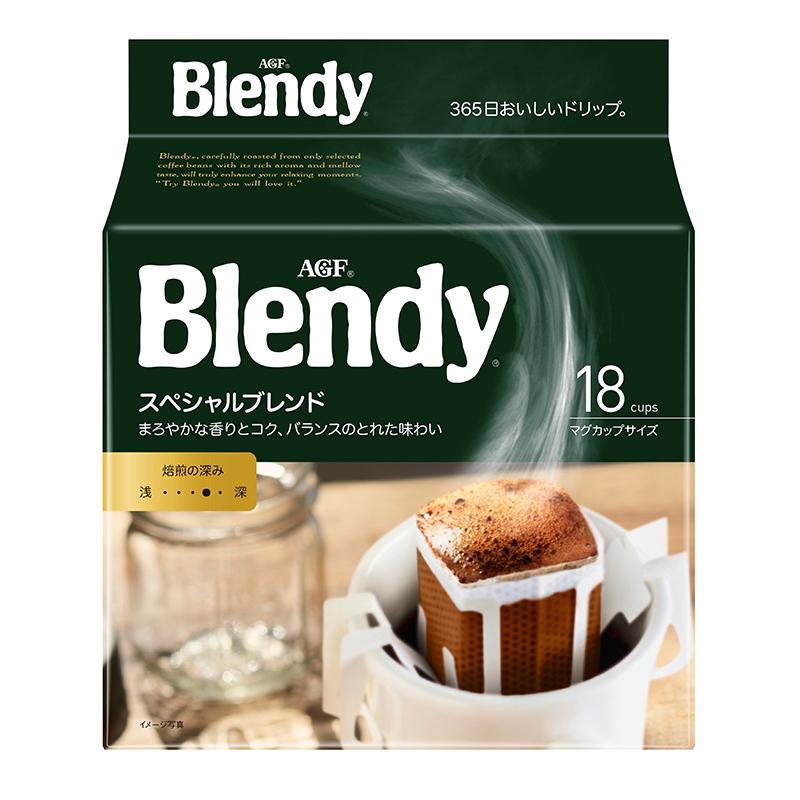 AGF Blendy 中度烘焙 醇香原味 挂耳咖啡 7g*18包
