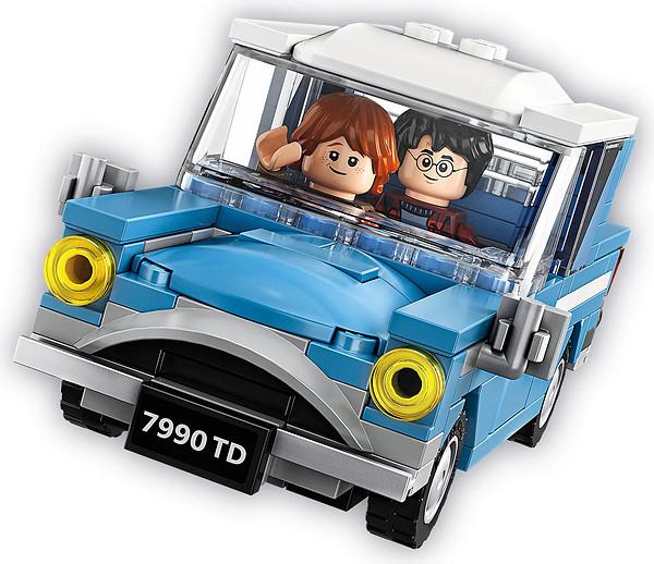 考拉海购黑卡会员:LEGO 乐高 哈利波特系列 75968 女贞路4号和飞行汽车