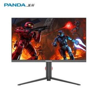 PANDA 熊猫 PE24FA5 23.8英寸IPS显示器 (1920*1080、144Hz、99%sRGB)