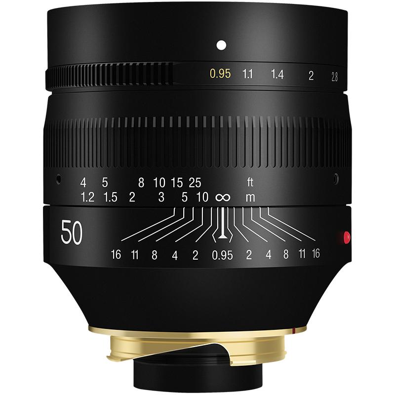 TTArtisan 铭匠光学 NOCTILUX-M 50mm F0.95 APSH 标准定焦镜头 徕卡M卡口 67mm