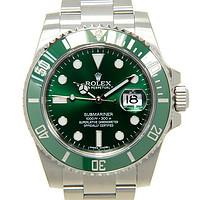 10日0点 : Rolex 劳力士 潜航者系列绿水鬼 116610LV 男士自动机械腕表