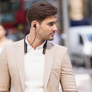 SONY 索尼 WI-1000XM2 入耳式颈挂式无线蓝牙降噪耳机 黑色