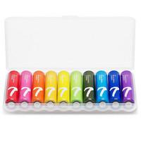 小米(MI)7号紫米彩虹电池碱性/血压计/血糖仪/遥控器/挂钟/适用于小米体脂秤/小米鼠标/儿童玩具(10粒装)