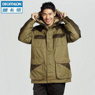 DECATHLON 迪卡侬 防寒服冬季男士户外棉衣防水保暖棉服大衣外套  SOLOGNAC