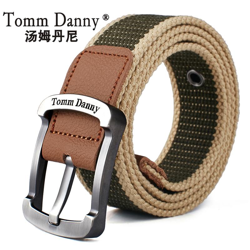 TommDanny 汤姆丹尼 中性款帆布腰带