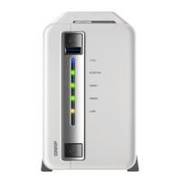 威联通(QNAP)TS-212P3 四核双盘位NAS网络存储器 白色 标配无硬盘