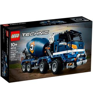 百亿补贴 : LEGO 乐高 机械组系列 42112 混凝土搅拌运输车