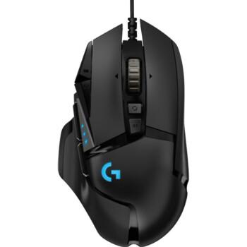Logitech 罗技 G502 HERO 有线鼠标 16000DPI 黑色