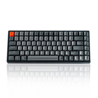 J.ZAO 京东京造 K2 84键 双模无线机械键盘 黑色 佳达隆G轴红轴 RGB