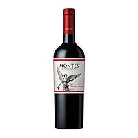 MONTES 蒙特斯 经典赤霞珠 红葡萄酒 750ml *2件