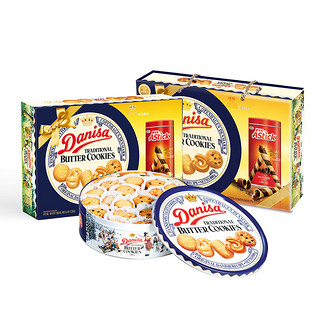 88VIP : Danisa 皇冠丹麦曲奇饼干  888g *3件