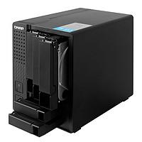 QNAP威联通TS551 双核心 5-bay NAS 分层分区存储 4K影像输出